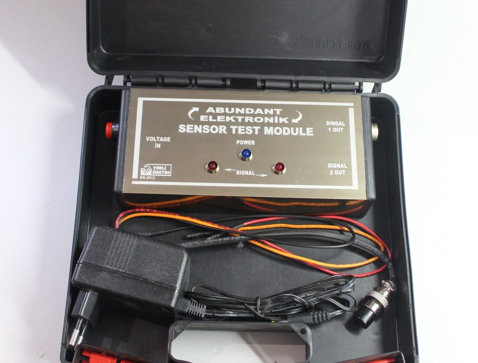Sensör Test Modülü